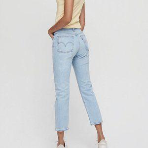 Levi's $98 Premium Denim Wedgie Straight Jeans